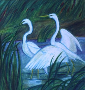 Egrets - JAZarins